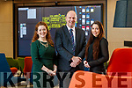 Reidín O'Connor, Members and Community manager, Liam Cronin, CEO and  Fionnuala O'Callaghan, Operations Manager at RDI hub in Killorglin.