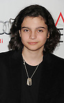 HOLLYWOOD, CA - NOVEMBER 07: Max Burkholder arrives at the 'Ginger And Rosa' special screening during AFI Fest 2012 at Grauman's Chinese Theatre on November 7, 2012 in Hollywood, California.