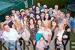 BIRTHDAY GIRL: Shauna Horan (standing 4th from right) celebrated her 18th birthday with a garden party at her home in Manor Park, Tralee, last Saturday night surrounded by friends and family.