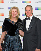 Carl H. Lindner, III and wife, Martha, arrive for the formal Artist's Dinner honoring the recipients of the 38th Annual Kennedy Center Honors hosted by United States Secretary of State John F. Kerry at the U.S. Department of State in Washington, D.C. on Saturday, December 5, 2015. The 2015 honorees are: singer-songwriter Carole King, filmmaker George Lucas, actress and singer Rita Moreno, conductor Seiji Ozawa, and actress and Broadway star Cicely Tyson.<br /> Credit: Ron Sachs / Pool via CNP