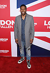 HOLLYWOOD, CA - MARCH 01: Actor Jocko Sims attends the premiere of Focus Features' 'London Has Fallen' held at ArcLight Cinemas Cinerama Dome on March 1, 2016 in Hollywood, California.