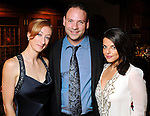 From left: Justine Bevern, Pete Castro and Sherry Shafiei at the Endeavor for Hope Foundation's Annual Fundraising Gala Saturday May 09,2010.  (Dave Rossman Photo)