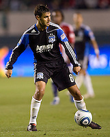 San Jose Earthquakes forward Chris Wondolowski (8) moves with the ball. CD Chivas USA defeated the San Jose Earthquakes 3-2 at the  at Home Depot Center stadium in Carson, California on Saturday April 24, 2010.  .