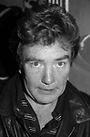 Albert Finney attends a Broadway Show on September 30, 1981 in New York City.