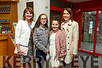 Marie Hanafin, Amy Kerins, Ciara Kerins and Valerie Kerins at Tralee Musical Society's 'Jesus Christ Superstar' in Siamsa Tíre on Saturday night
