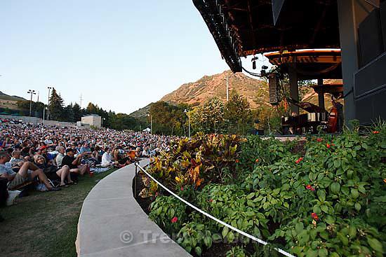 Grammy award-winner Diana Krall performs at Red Butte Garden..Friday July 31, 2009 in Salt Lake City. fans