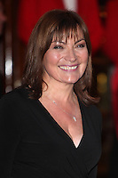 Lorraine Kelly arriving for the I Can't Sing Press Night, at the Paladium, London. 26/03/2014 Picture by: Alexandra Glen / Featureflash