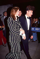 Julia Roberts & Lyle Lovett 1993 by <br />