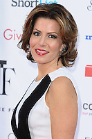 Natasha Kaplinski arriving for the Fragrance Foundation Awards 2014 at the Brewery, London. 15/05/2014 Picture by: Alexandra Glen / Featureflash