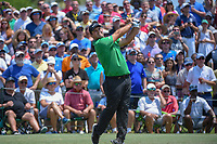 Patrick Reed (USA) watches his tee shot on 3 during round 1 of The Players Championship, TPC Sawgrass, at Ponte Vedra, Florida, USA. 5/10/2018.<br /> Picture: Golffile | Ken Murray<br /> <br /> <br /> All photo usage must carry mandatory copyright credit (&copy; Golffile | Ken Murray)