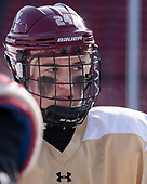 Kate Annese (BC - 24) - The Boston College Eagles practiced at Fenway on Monday, January 9, 2017, in Boston, Massachusetts.Kate Annese (BC - 24) - The Boston College Eagles practiced at Fenway on Monday, January 9, 2017, in Boston, Massachusetts.