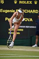 Wimbledon,5/07/2014<br /> <br /> Petra KVITOVA (CZ) defeated Eugenie BOUCHARD (CAN) 6-3 6-0<br /> <br /> <br /> © Ray Giubilo/ Tennis Photo Network