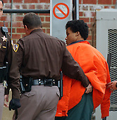 Fairfax, VA - January 14, 2003 -- John Lee Malvo arrives at Fairfax Court for a hearing in Fairfax, VA on January 14, 2003.<br /> Credit: Ron Sachs / CNP<br /> (RESTRICTION: NO New York or New Jersey Newspapers or newspapers within a 75 mile radius of New York City)