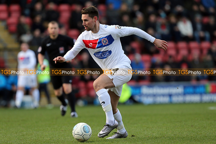 Daniel Sparkes of Dagenham during Leyton Orient vs Dagenham & Redbridge, Vanarama National League Football at the Matchroom Stadium on 26th December 2017