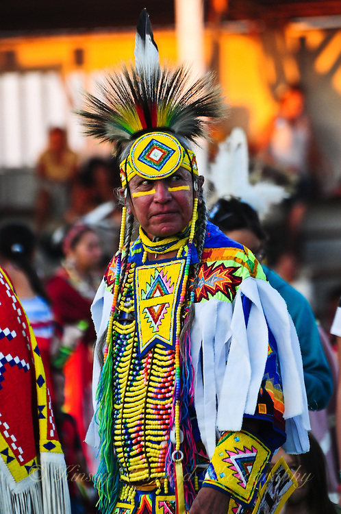 Photos of native american dancers at the 2010 Blackfeet Pow Wow in Browning Montana