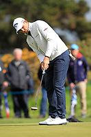 Christiaan Bezuidenhout (RSA) on the 4th during Round 2 of the Betfred British Masters 2019 at Hillside Golf Club, Southport, Lancashire, England. 10/05/19<br /> <br /> Picture: Thos Caffrey / Golffile<br /> <br /> All photos usage must carry mandatory copyright credit (&copy; Golffile | Thos Caffrey)