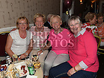 Bernie Ruddy, Polly Harty, Margaret Harris and Maureen Wynne at Thomas and Mary McElearney's 50th wedding anniversary party in the Fishermans. Photo:Colin Bell/pressphotos.ie