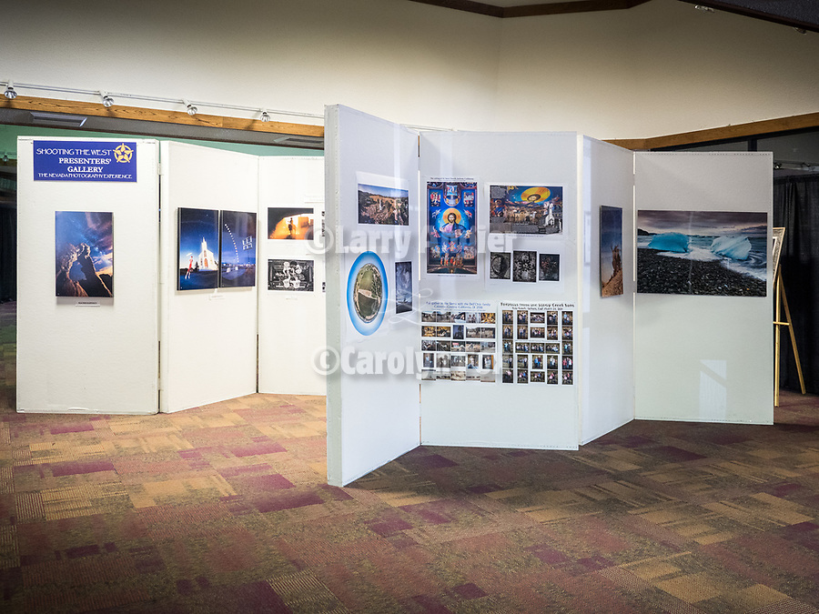East Hall galleries and vendors, STW XXXI, Winnemucca, Nevada, April 10, 2019.<br /> .<br /> .<br /> .<br /> .<br /> @shootingthewest, @winnemuccanevada, #ShootingTheWest, @winnemuccaconventioncenter, #WinnemuccaNevada, #STWXXXI, #NevadaPhotographyExperience, #WCVA
