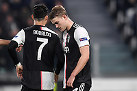 Cristiano Ronaldo and Matthijs de Ligt of Juventus <br /> Torino 26/11/2019 Juventus Stadium <br /> Football Champions League 2019//2020 <br /> Group Stage Group D <br /> Juventus - Atletico Madrid <br /> Photo Andrea Staccioli / Insidefoto