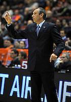 Partido de la Eurocap 2012-2013 Primera Fase disputado entre el Valencia  Basket y el Azovmash Mariupol en el Pabellon Fuente San Luis en Valencia, Miercoles 12 de Diciembre de 2012.. .Resultado del partido: 93 - 68.