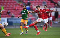 22nd July 2020; Ashton Gate Stadium, Bristol, England; English Football League Championship Football, Bristol City versus Preston North End; Jamie Paterson of Bristol City takes a shot at goal