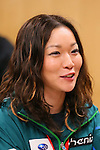 Ayumi Watase, APRIL 21, 2013 : The Building up Team Japan 2013 for Sochi at Ajinomoto NTC, Tokyo, Japan. (Photo by AFLO SPORT)