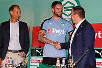 GRONINGEN - Voetbal, Presentatie Lars Veldwijk, Noordleasestadion , seizoen 2017-2018,  12-07-2017,