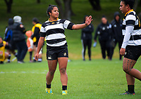 Action from the Wellington premier club rugby Rebecca Liua'ana Trophy match between Oriental-Rongotai and Petone at Ngatitoa Domain in Wellington, New Zealand on Saturday, 6 April 2019. Photo: Dave Lintott / lintottphoto.co.nz