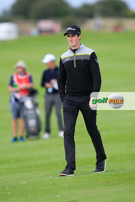Gary Hurley (IRL) on the 11th fairway during Round 2 of Made in Denmark at Himmerland Golf &amp; Spa Resort, Farso, Denmark. 25/08/2017<br /> Picture: Golffile | Thos Caffrey<br /> <br /> All photo usage must carry mandatory copyright credit     (&copy; Golffile | Thos Caffrey)