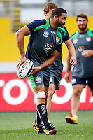 PICTURE BY WILLIAM BOOTH/photosport.co.nz - Rugby League - Anzac Test - Australia Captain's Run - Eden Park, Auckland, New Zealand - 19/04/12 - Australia's Greg Inglis - Copyright - Photosport NZ/SWpix.com...
