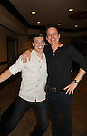 The Young and The Restless Christian LeBlanc - lead actor nominee & presenter poses with Adam Gregory at the 38th Annual Daytime Entertainment Emmy Awards 2011 held on June 19, 2011 at the Las Vegas Hilton, Las Vegas, Nevada. (Photo by Sue Coflin/Max Photos)