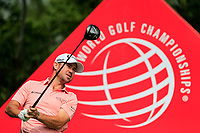 Charlie Hoffman (USA) on the 9th tee during the 2nd round at the WGC HSBC Champions 2018, Sheshan Golf CLub, Shanghai, China. 26/10/2018.<br /> Picture Fran Caffrey / Golffile.ie<br /> <br /> All photo usage must carry mandatory copyright credit (&copy; Golffile | Fran Caffrey)