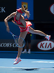 Maria Sharapova (RUS) defeats Shuai Peng (CHN) 6-3, 6-0