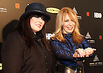 LOS ANGELES, CA - APRIL 18:  Ann and Nancy Wilson pose for photographs at the 2013 Rock and Roll Hall of Fame Induction Ceremony at the Nokia Theatre in Los Angeles, CA. (Photo by Dave Eggen/Inertia)