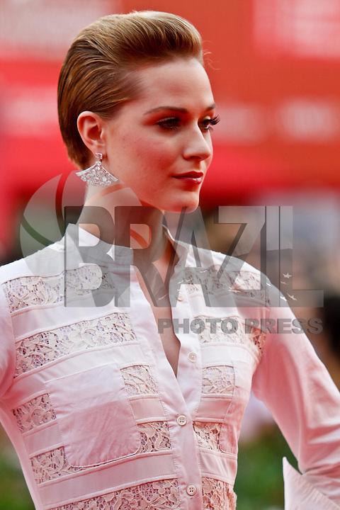 VENEZA, ITALIA, 31 DE AGOSTO 2011 - 68 FESTIVAL DE CINEMA EM VENEZA - Evan Rachel Wood durante o Red Carpet no 68 Festival Internacional de Cinema em Veneza na Italia. FOTO: VANESSA CARVALHO - NEWS FREE.