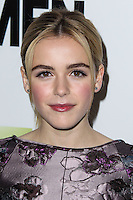 "HOLLYWOOD, LOS ANGELES, CA, USA - APRIL 02: Kiernan Shipka at the Los Angeles Premiere Of AMC's ""Mad Men"" Season 7 held at ArcLight Cinemas on April 2, 2014 in Hollywood, Los Angeles, California, United States. (Photo by Xavier Collin/Celebrity Monitor)"