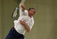 March 5, 2015, Netherlands, Hilversum, Tulip Tennis Center, NOVK, Jan Lind (NED)<br /> Photo: Tennisimages/Henk Koster