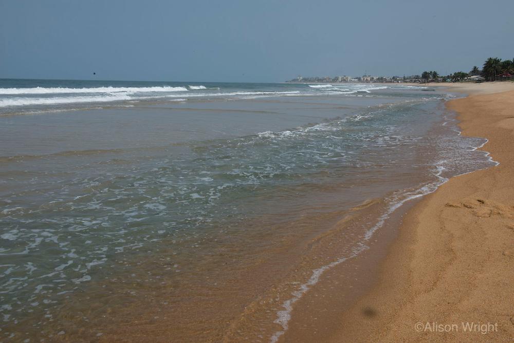 Lumley Monrovia Beach. Monrovia, Liberia, Africa