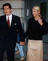 John Kennedy &amp; wife Carolyn Bessette 1996<br /> Photo By John Barrett-PHOTOlink.net / MediaPunch