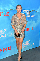 "LOS ANGELES, USA. October 17, 2019: Malin Akerman at the premiere of ""Living With Yourself"" at the Arclight Theatre, Hollywood.<br /> Picture: Paul Smith/Featureflash"
