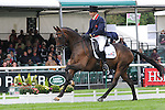 James Robinson riding Comanche during the dressage phase of the 2012 Land Rover Burghley Horse Trials in Stamford, Lincolnshire