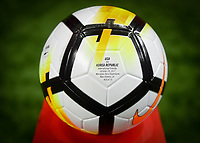 New Orleans, LA - Thursday October 19, 2017: NIKE game ball during an International friendly match between the Women's National teams of the United States (USA) and South Korea (KOR) at Mercedes Benz Superdome.