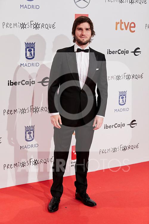 Lucas Vidal attends to XXV Forque Awards at Palacio Municipal de Congresos in Madrid, Spain. January 11, 2020. (ALTERPHOTOS/A. Perez Meca)