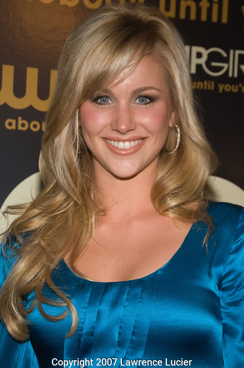 "Actor Candice Crawford arrives at the party for the premiere of the CW Network's ""Gossip Girl"" September 18, 2007, at Tenjune in New York City.. (Pictured : CANDICE CRAWFORD)."