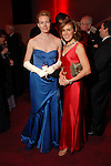 Samantha Schnee and Katharyne Newman (cq) at the Houston Grand Opera Ball at the Wortham Theater Saturday  April 05,2008. (Dave Rossman/For the Chronicle)