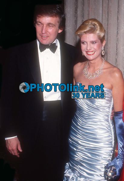 Donald Trump Ivana Trump 1989<br /> Photo By John Barrett/PHOTOlink.net