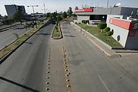 Vistos desde el Puente peatonal del Bulevar Luis Encinas Jhonson y Américas.