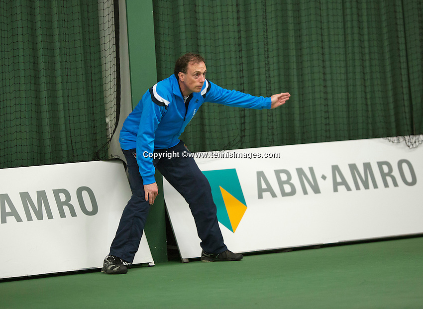 Januari 24, 2015, Rotterdam, ABNAMRO, Supermatch, Linesman<br /> Photo: Tennisimages/Henk Koster