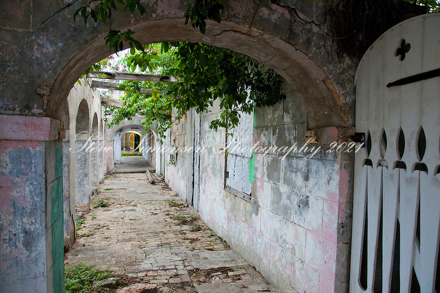Historic passage way<br /> Fredericksted<br /> St. Croix<br /> U.S. Virgin Islands