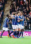 Stockholm 2014-03-09 Fotboll Svenska Cupen Djurg&aring;rdens IF - Assyriska FF :  <br /> Djurg&aring;rdens Andreas Johansson har gjort 2-0 p&aring; straff och gratuleras av Djurg&aring;rdens Mattias &Ouml;stberg med lagkmarater<br /> (Foto: Kenta J&ouml;nsson) Nyckelord:  Djurg&aring;rden jubel gl&auml;dje lycka glad happy